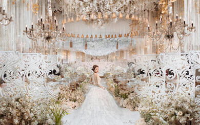 杭州婚蜜   唯美浪漫香槟色系婚礼