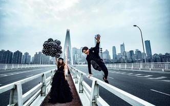 【城市旅拍】风格任选+底片全送+内景+双外景拍摄
