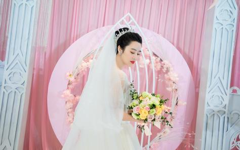 为伊作嫁丨浪漫粉色主题婚礼丨《终于等到你》