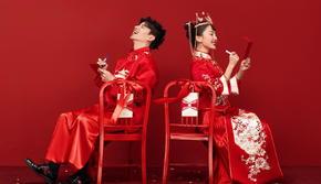 俏东方更年轻套系的国风婚照一价全包总监团队1对1