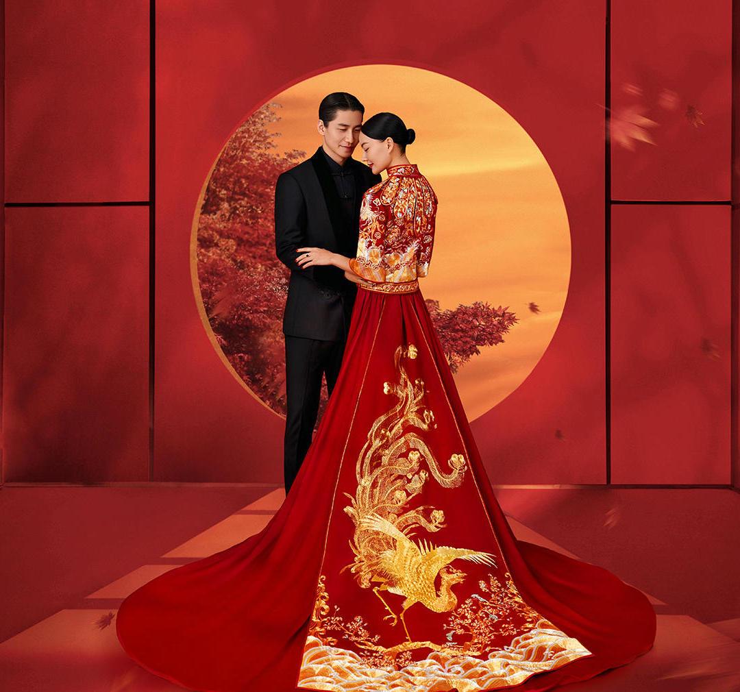 【喜嫁系列】中式婚纱照 服装任选 必拍系列