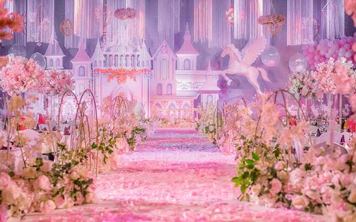 【梦梵婚礼企划】粉色城堡风格
