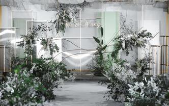 【绿色】清新白绿婚礼·I Want