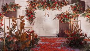 【限时特惠】一价全包 策划+四大金刚 红棕婚礼