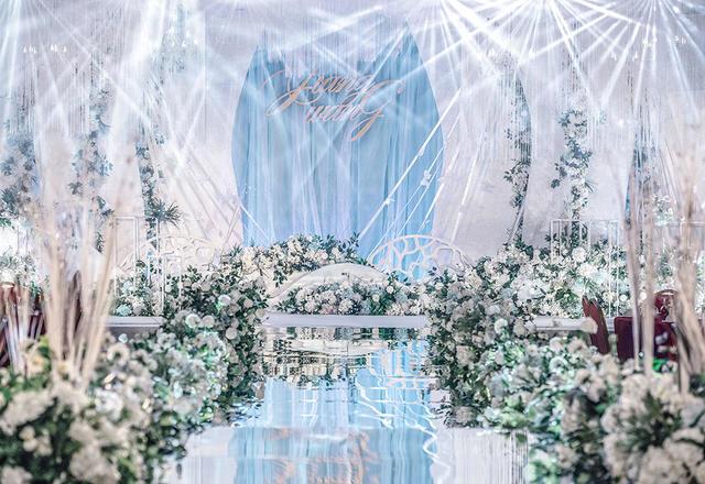 白色系唯美婚礼|时光婚礼