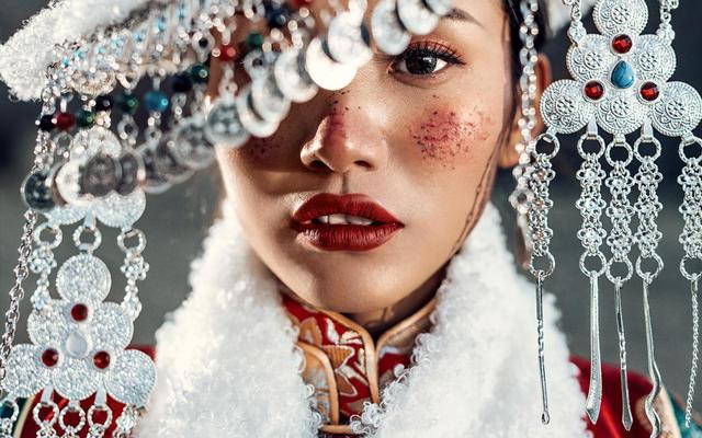 [西藏婚纱摄影]阿里藏装客片分享
