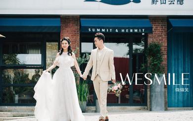 【微微笑婚纱摄影】清新街拍