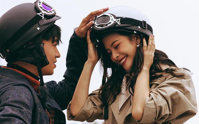 【成都婚纱照】时尚农场摩托车