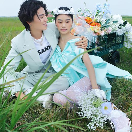 【云朵旅拍】户外森系小清新婚纱照
