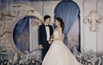 双机婚礼摄像录像+无人机航拍+席前回放