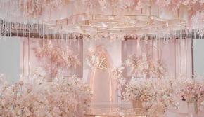 优尔婚礼企划——粉色系梦幻婚礼