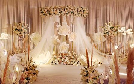 香槟色主题 小型婚礼首选