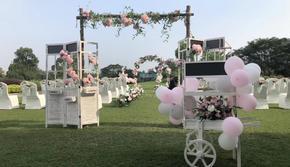 中小型婚礼、户外、球场、家庭婚礼布置策划