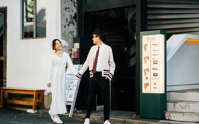 小清新日式街拍,牵你的手走遍日本的大街小巷