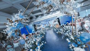 【遇见婚礼策划】网红爆款 蓝色系婚礼 含四大金刚