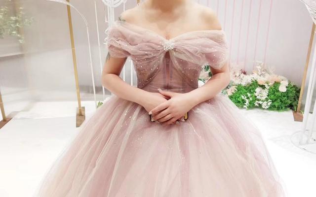 【希若婚纱】粉色少女系列