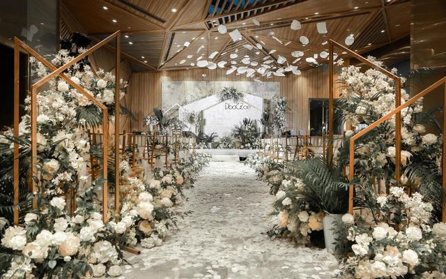 【一禧婚礼策划】ins风 白绿色系 小众婚礼