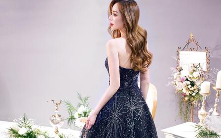 2020新品婚纱独立设计师品牌晚礼服