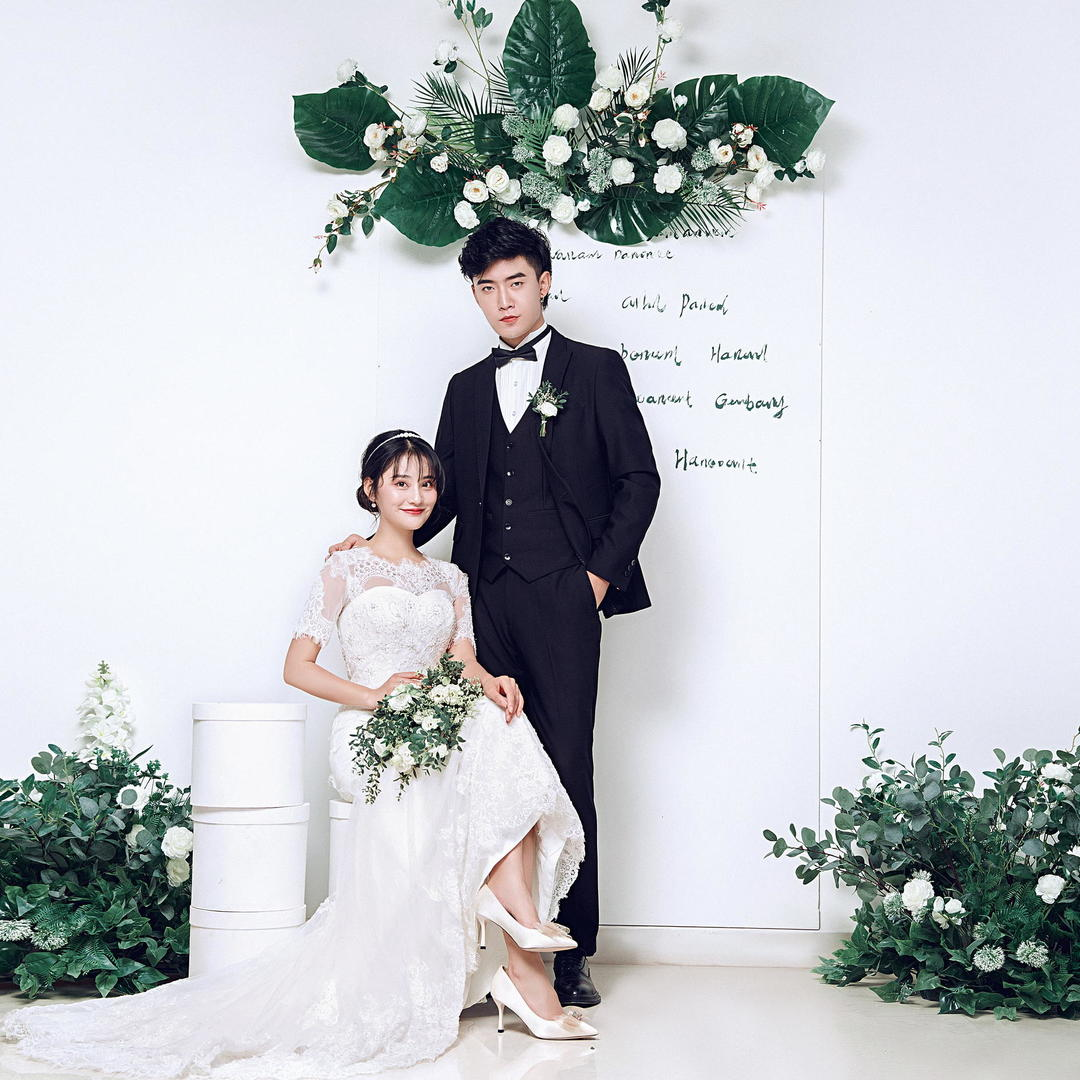 【店长热推】内景+外景+首席一对一+送婚嫁礼