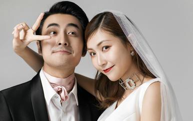 【婚礼纪用户】韩式内景简约风婚照6套服装