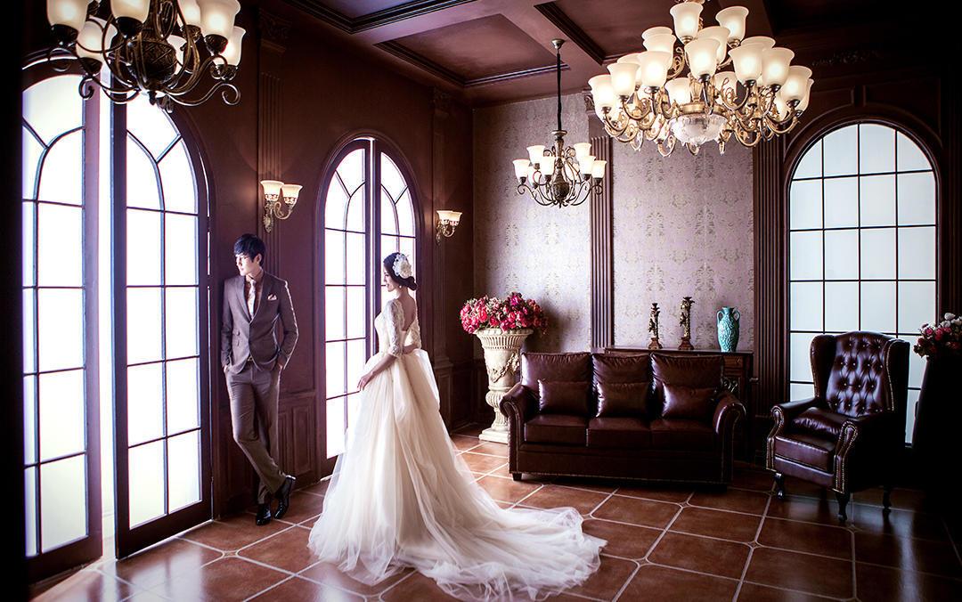 阁楼婚纱婚礼会馆----永结同心