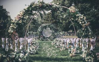 2020年春夏套餐白绿色草坪婚礼《LL》