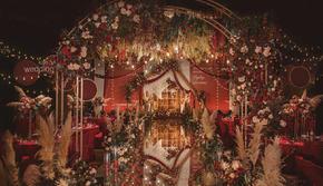 【秋意浓】创意美式婚礼橘色系含四大金刚 欲购从速