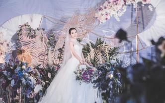 梦幻而仙气的紫色婚礼,仙女们值得拥有