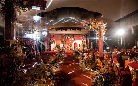 喜上婚礼 | 秋天色系风婚庆服务,一价全包含灯光