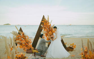 婚礼跟拍双机位摄像+航拍