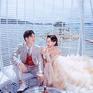 城市旅拍风 另类 个性 时尚婚纱照