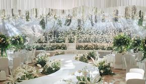 【明星同款】弦子X李茂同款清新婚礼—《棕榈叶》