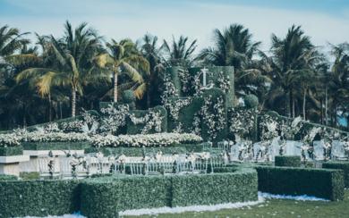 英式风格户外婚礼 | 梦幻庄园