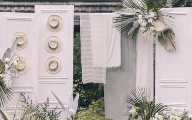 【三亚在四月海岛婚礼】白色主题