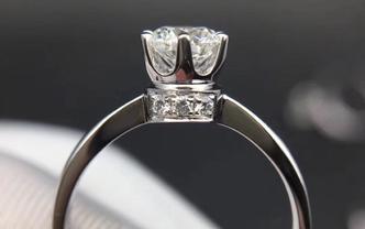钻石海洋——婚戒——50分皇冠小伯爵