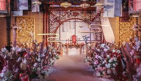 伊生伊世婚礼婚庆现场布置策划背景设计现场