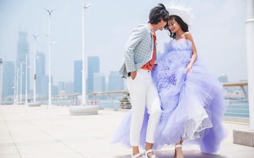 慕色美学婚纱摄影——海边灯塔