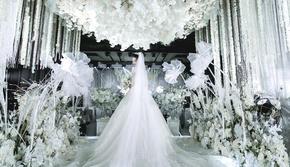 白色超炫灯光舞美吊装婚礼