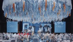 【限时十一国庆套餐】诺言【森情】蓝色主题婚礼