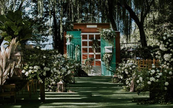 雅琼婚礼 | 创意主题户外婚礼  匆匆那年