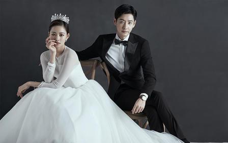 【双影像拍摄】明星范婚照  婚纱礼服不分区