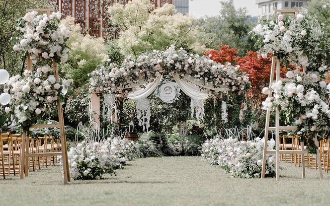 【尚壹婚礼】小青柠户外 50-70人小型婚礼之选