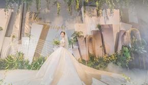 【爱度婚礼】白绿色 森系婚礼 ins北欧风 超美
