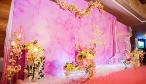 温馨浪漫的粉色系Ins风婚礼,19年的新人之选