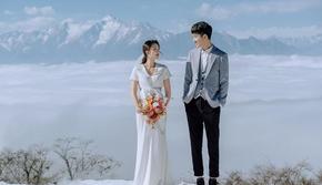 【川西旅拍】浪漫雪景+边走边拍+3千元婚嫁大礼包