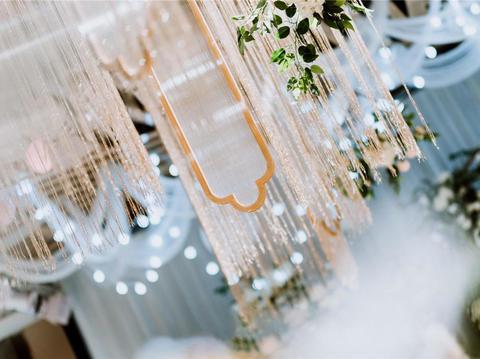 西式白绿色系列时尚主题婚礼【如初】
