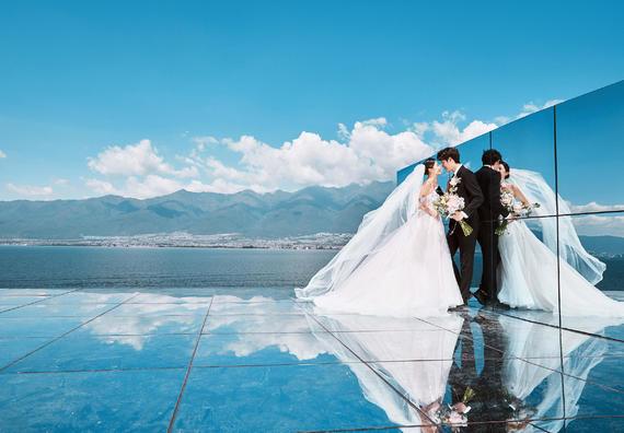 大理丽江双城任选一价全包|微视频|送婚纱+酒店