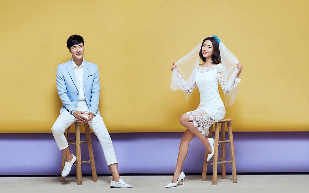 【限时特惠】城市潮拍系列|韩式婚纱照
