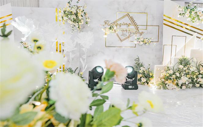 【典尚婚礼】高性价比热卖 线条大理石花纹 假如