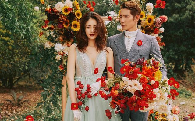 花漾系列新品首发 | 花系婚照 为美而来